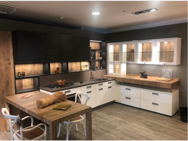 Cucina angolare Marchi Group Lab 40
