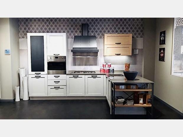 Cucina con penisola Stosa Cucine York Artic