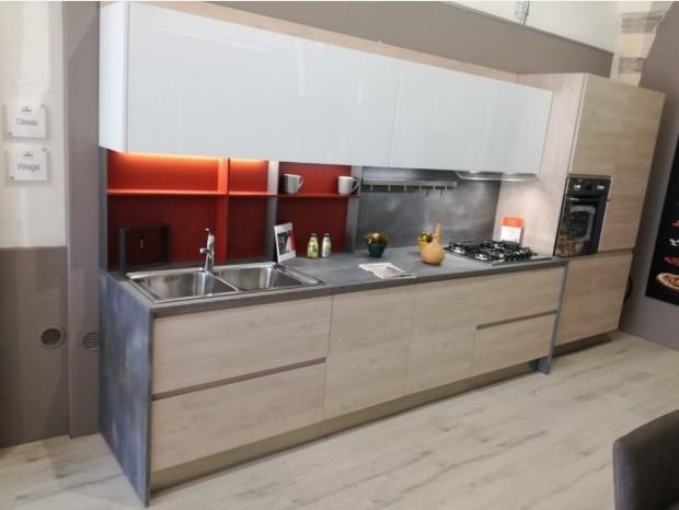 Cucina lineare Arredo3 Wega