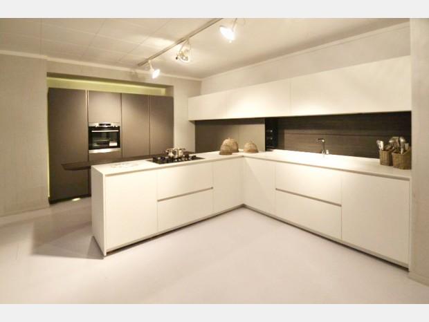 Cucina con penisola Modulnova Light