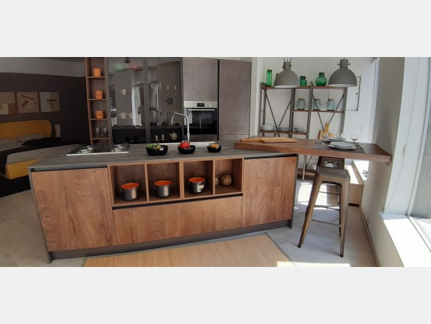 Cucina con Isola Astra SP 22