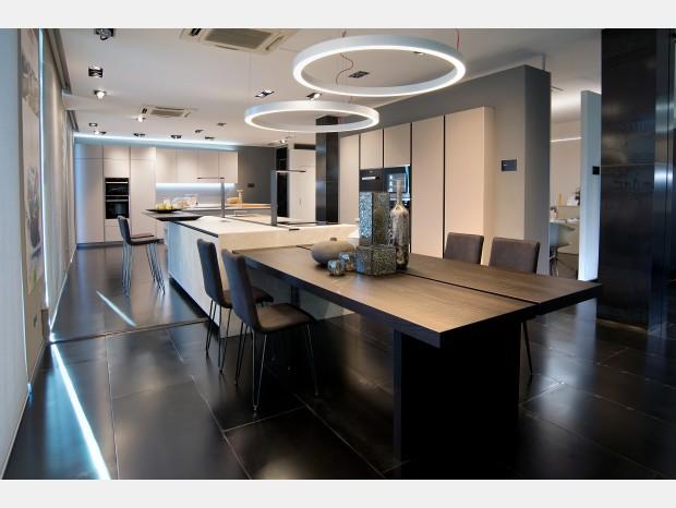 Cucina con Isola Arrital ak04 vetro - gres