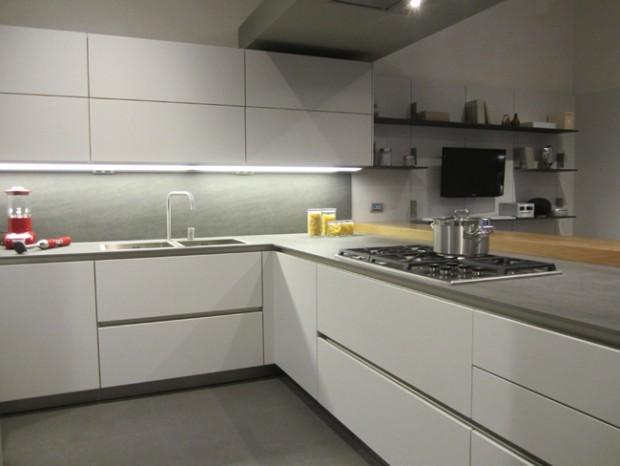 Cucina con penisola Siematic S2+SE 8008 LM