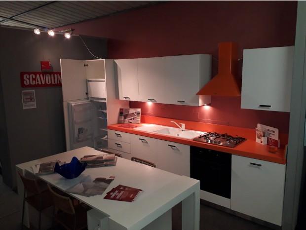 Cucina lineare Scavolini SAX