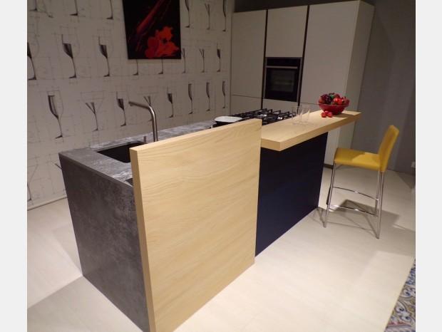Cucina con Isola Ponti Design Dek T