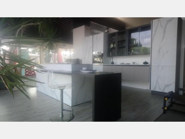 Cucina con Isola Mobilturi zen