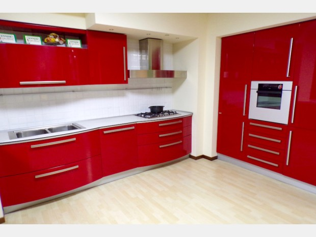Cucina lineare Errebi Spoon