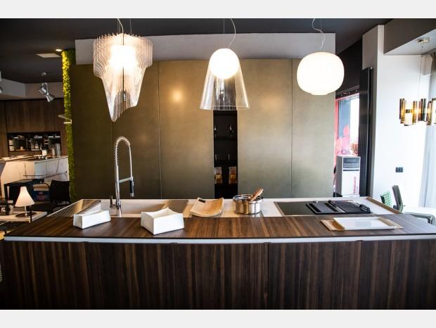 Cucina con Isola Binova Mantis / Scava