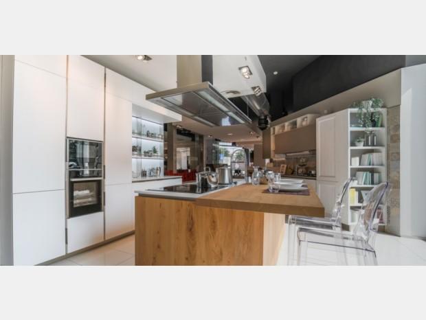 Cucina con Isola Veneta Cucine Lounge Go