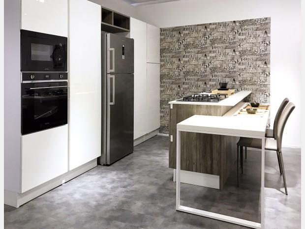 Cucina con Isola Berloni B50 Lux
