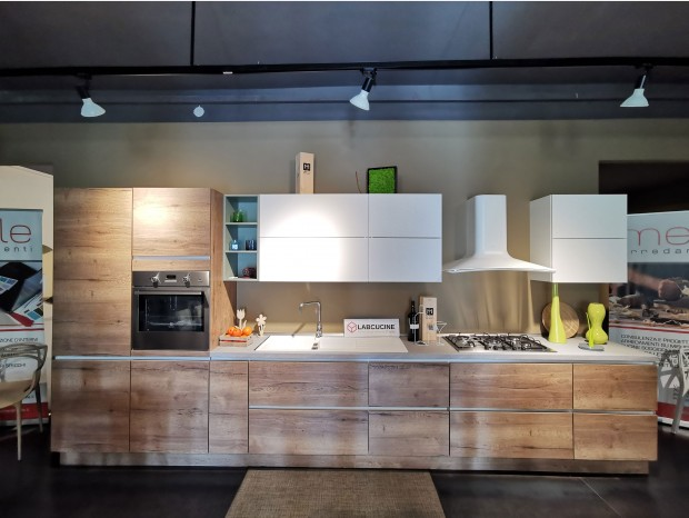 Cucina lineare Lab Cucine STRUCTURA