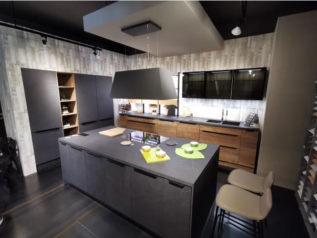 Cucina con Isola Lab Cucine STRUCTURA E STONE ART