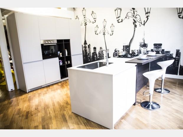 Cucina con Isola Euromobil Lain