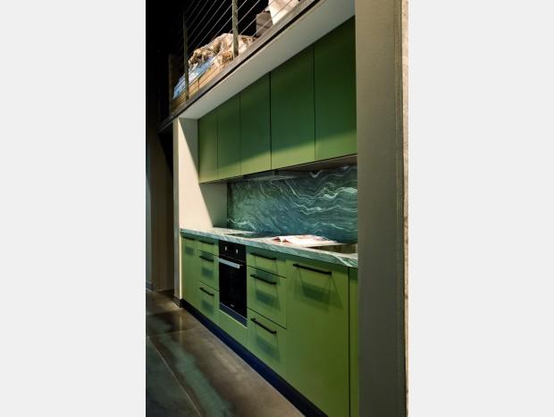 Cucina lineare Nolte Küchen Koje 4 Manhattan