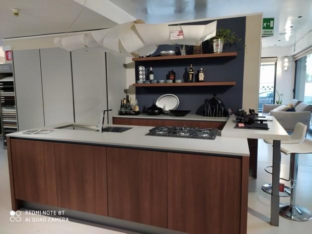 Cucina con Isola Poliform ALEA