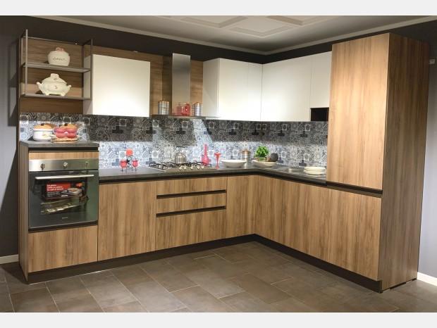 Cucina angolare Produzione Artigianale Standapp Kitchen Gola