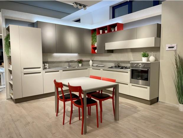 Cucina angolare Veneta Cucine CARRERA F1