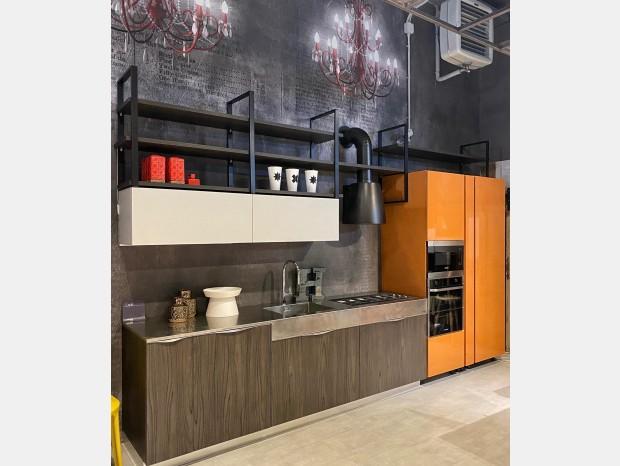 Cucina lineare Aran cucine Lab13