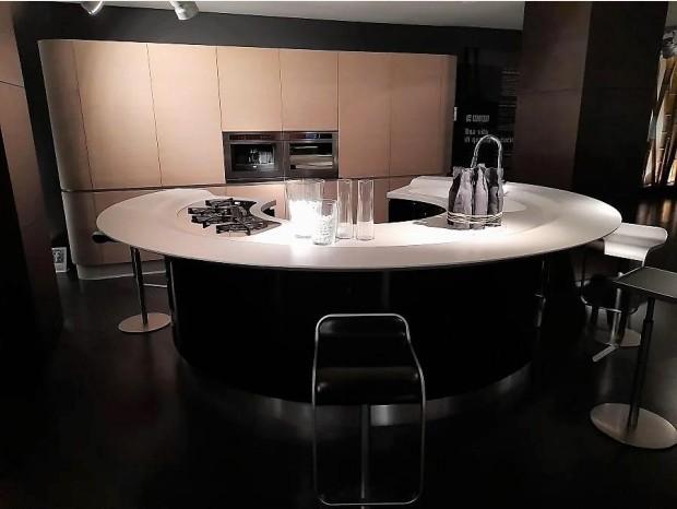 Cucina con Isola Composit Maxima Round