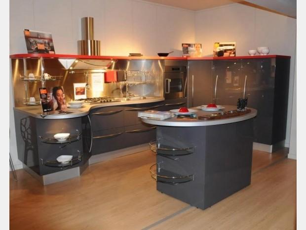 Cucina con Isola Snaidero Skyline
