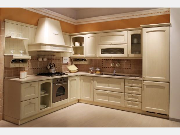 Cucina angolare Veneta Cucine Villa D'Este