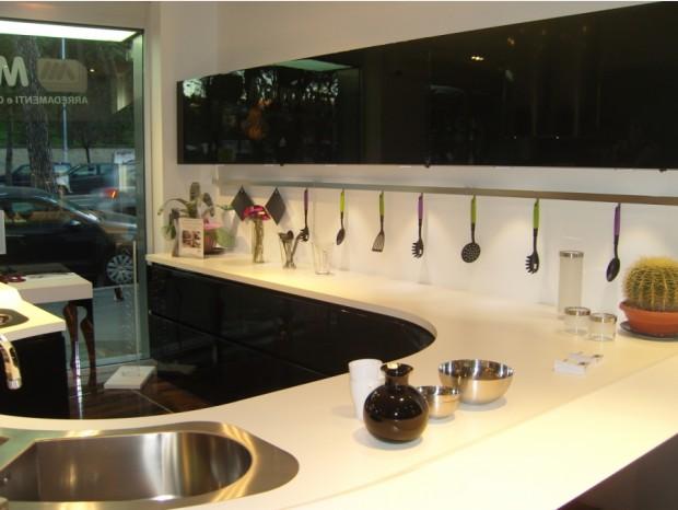 Cucina con penisola Composit Maxima Round