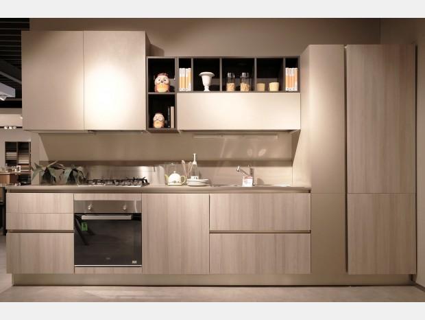 Cucina lineare La Casa Moderna Pratica
