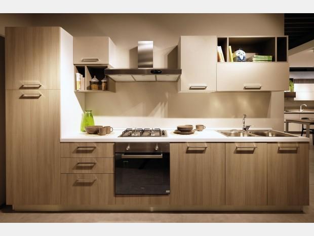 Cucina lineare La Casa Moderna Colibrì