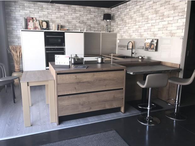 Cucina con penisola Cucina Tedesca Lux