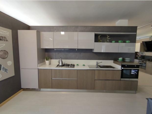 Cucina lineare Arredo3 Asia - Glass