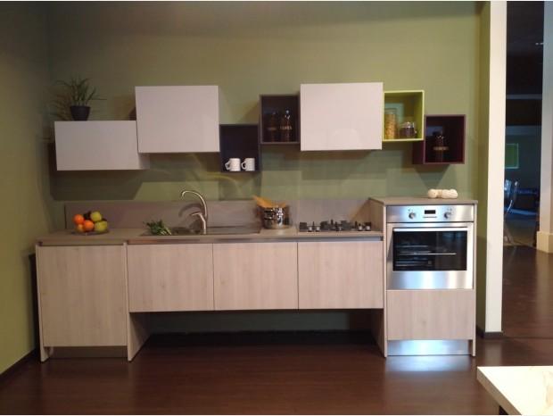 Cucina lineare Evo Cucine Aurora