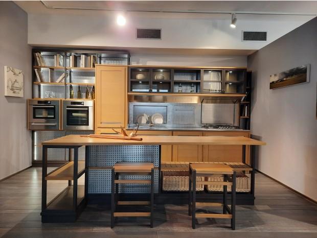 Cucina con Isola L'Ottocento ROVERETTO