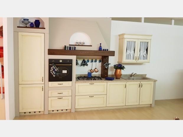 Cucina lineare Carma Cucine Iride L54