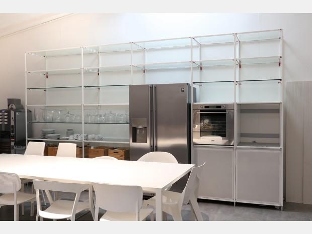 Cucina lineare Valcucine Meccanica