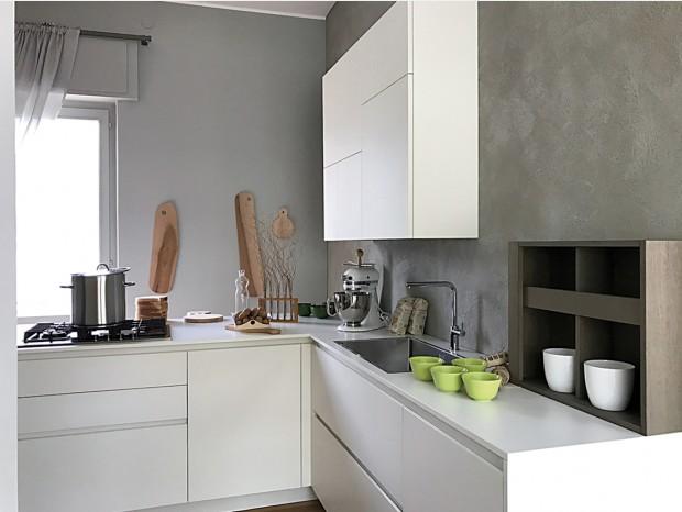 Cucina angolare Valdesign Logica L40