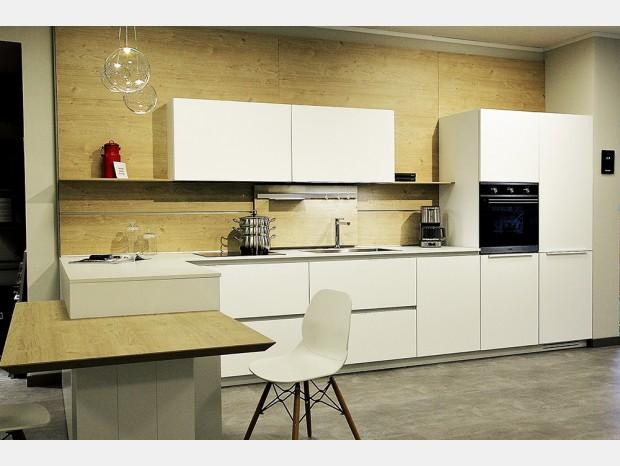 Cucina con penisola Euromobil Lain