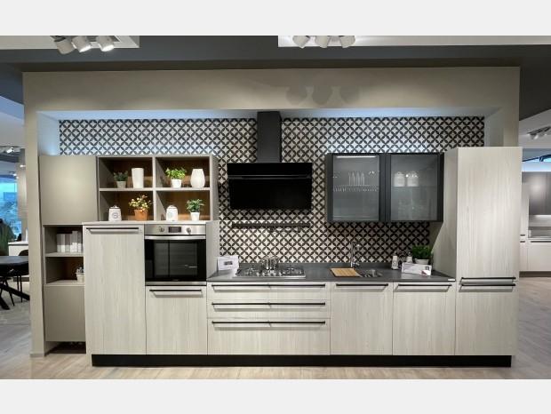 Cucina lineare Veneta Cucine START TIME