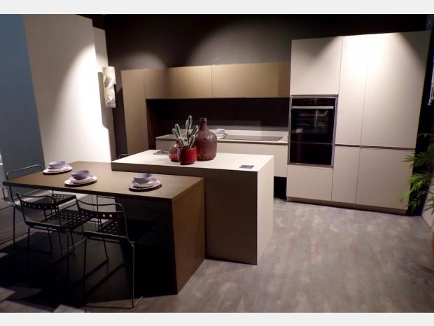 Cucina con Isola Arrex Loft Soft & Lab