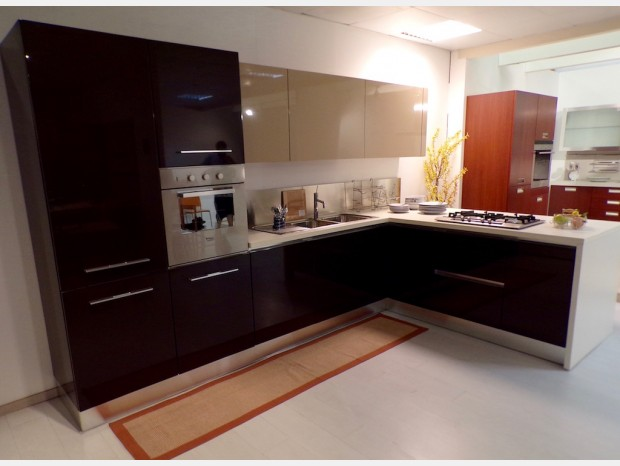 Cucina con penisola Aran cucine Dalì