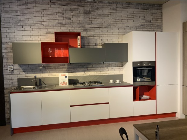 Cucina lineare Stosa Cucine replay