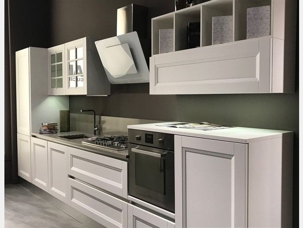 Cucina lineare Aran cucine Ylenia