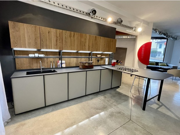 Cucina con penisola Zampieri Cucine XP