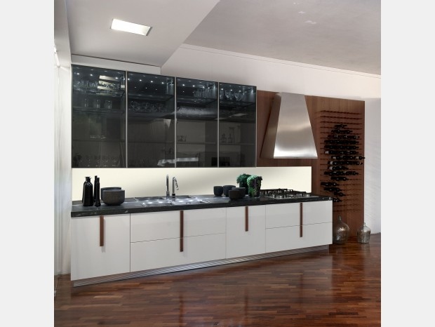 Ernestomeda barrique for Cucine ernestomeda outlet