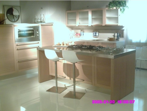 Cucine Moderne Vicenza : Cucina con penisola Veneta Cucine EXTRA TONDA ...